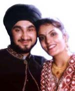 Kamal & Daman happily married